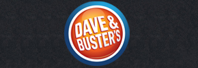 Dave and Busters 290x100