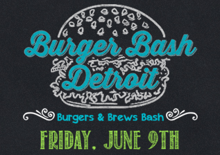 Detroit Burger & Brews Bash Retina Logo