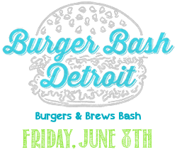 Detroit Burger & Brews Bash Logo